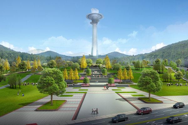 平塘县天文小镇时光观光塔项目